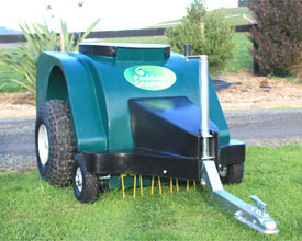 The Original Paddock Groomer horse manure collector and pasture sweeper