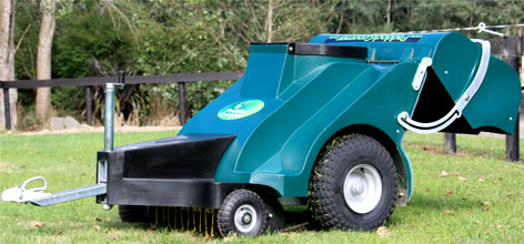 Super Groomer paddock cleaner horse manure collector